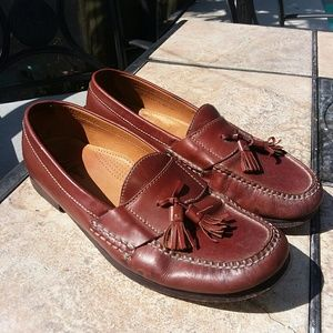 Cole Haan Brown Leather Loafers Shoes Size 10.5